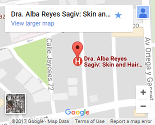 Map Alba Reyes Clinic